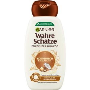 GARNIER - Wahre Schätze - Kokosmilch & Macadamia Nährendes Shampoo