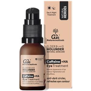 GG's True Organics - Augenpflege - Caffeine + HA Eye Treatment