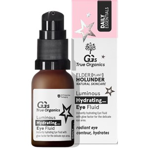 GG's True Organics - Augenpflege - Luminous Hydrating Eye Fluid