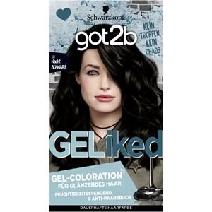 GOT2B - Coloration - 1.0 Nacht Schwarz Stufe 3 Gel-Coloration