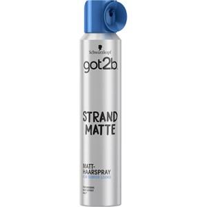 GOT2B - Styling - Strand Matte Matt-Haarspray (Halt 4)