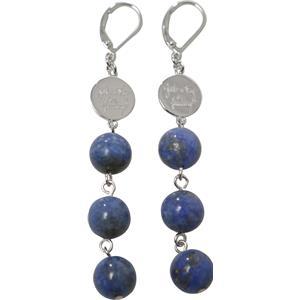 Gab & Ty by Jana Ina - Boucles d'oreilles - Boucles d'oreille lapis-lazuli bleu 925 argent sterling