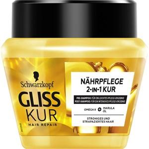 Gliss Kur - Hair treatment - 2-in-1 Nährpflege Kur