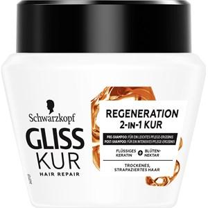 Gliss Kur - Hair treatment - 2-in-1 Regeneration Kur