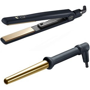 Golden Curl - Hair styling tools - The Double Gold Set