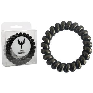 HH Simonsen - Haarelastiekjes - Hair Cuddles XL Black