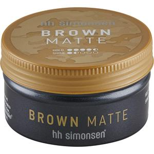 HH Simonsen - Haarstyling - Brown Matte Clay