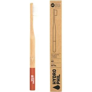 HYDROPHIL - Zahnpflege - Bambuszahnbürste Rot