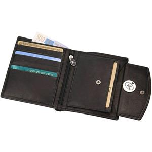 Hans Kniebes - Purses - Full-Grain Amalfi Cowhide Leather Wallet
