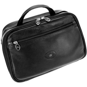 Hans Kniebes - Wash bags - Full-Grain Nappa Cowhide Leather Beauty Bag