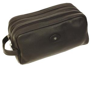 Hans Kniebes - Wash bags - Double Zip Wash Bag