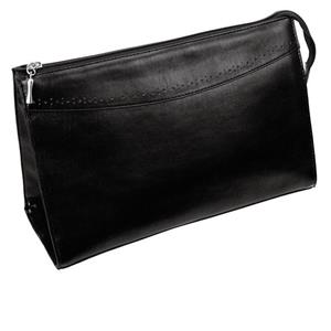 Hans Kniebes - Wash bags - Genuine Cowhide Leather Wash Bag