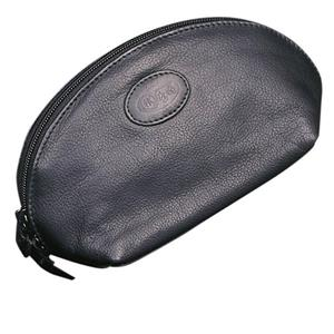 Hans Kniebes - Wash bags - Full-Grain Amalfi Cowhide Leather Make-Up Bag