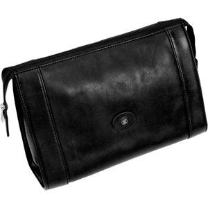 Hans Kniebes - Wash bags - Full-Grain Amalfi Cowhide Leather Toiletry Bag