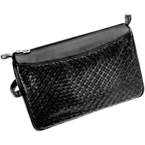 Hans Kniebes - Wash bags - Full-Grain Nappa Cowhide Leather Toiletry Bag