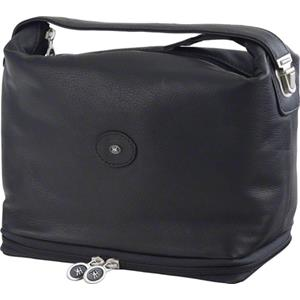 Hans Kniebes - Wash bags - Toiletry Bag with Manicure Case