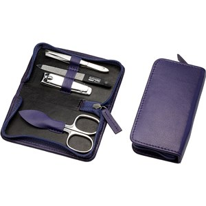 Hans Kniebes - Manicure-Etuis - 4-part nappa leather manicure case