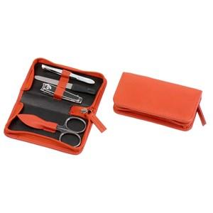 Hans Kniebes - Instruments de manicure - Étui de manucure, cuir mouton nappa, 102x54mm