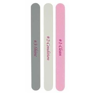 Hans Kniebes - Nail files - Set of 3 Buffers