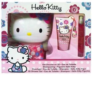 Hello Kitty - Flowers - Bath Fun Set