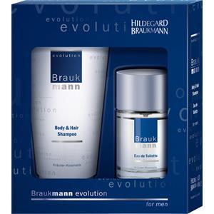 Hildegard Braukmann Herrenpflege Evolution Geschenkset Eau de Toilette Spray 30 ml + Body & Hair Shampoo 75 ml 1 Stk.