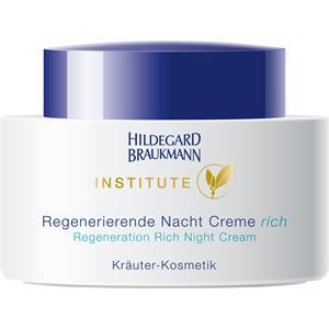 Hildegard Braukmann - Institute - Crème de nuit régénérante rich