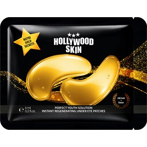 Hollywood Skin - Eye care - Gold Secrets Hydrogel Eye Patches