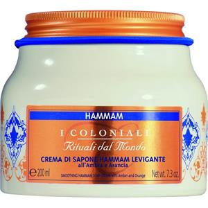 I Coloniali - Hammam - Seifencreme Amber & Orange