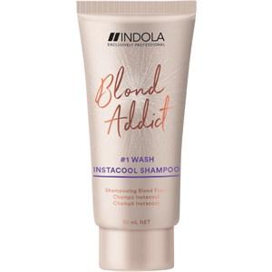 INDOLA - Blond Addict Care - Instacool Shampoo Mini