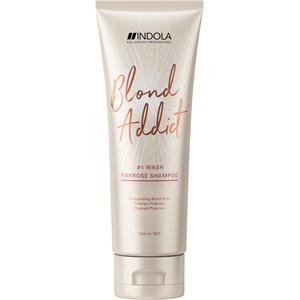 INDOLA - Blond Addict Care - Pinkrose Shampoo