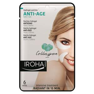Iroha - Facial care - Anti-Age Hydrogel Patches Eyes / Lips