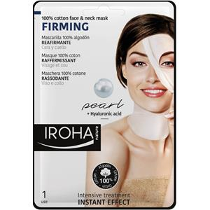 Iroha - Facial care - Firming 100% Cotton Face & Neck Mask