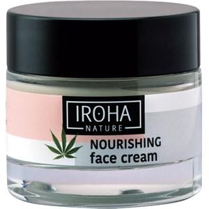 Iroha - Péče o obličej - Hemp Cannabis Sativa Seed Oil Nourishing Face Cream