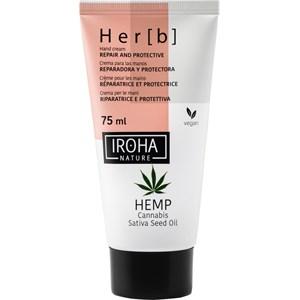 Iroha - Körperpflege - Hemp Cannabis Sativa Seed Oil Repair and Protective Hand Cream