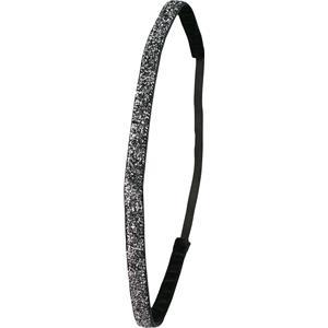 Ivybands - Haarbänder - Schwarzer Special Glitzer Super Thin