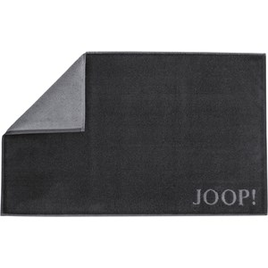 JOOP! - Classic Doubleface - Black/anthracite bath mat