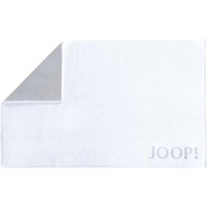 JOOP! - Classic Doubleface - Kylpymatto Valkoinen/Hopea
