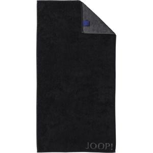 JOOP! - Classic Doubleface - Black bath towel