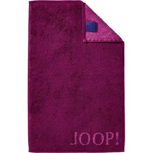 JOOP! - Classic Doubleface - Cassis guest towel
