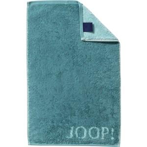 JOOP! - Classic Doubleface - Toalla de invitados turquesa