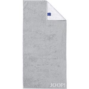 JOOP! - Classic Doubleface - Handdoek zilver