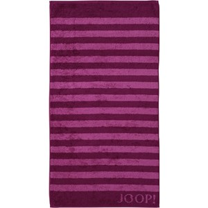JOOP! - Classic Stripes - Duschtuch Cassis