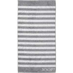 JOOP! - Classic Stripes - Douchehanddoek zilver