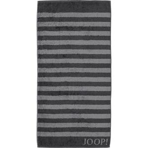JOOP! - Classic Stripes - Black hand towel