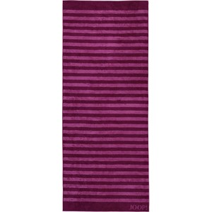 JOOP! - Classic Stripes - Cassis bath sheet