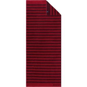JOOP! - Classic Stripes - Saunadoek robijn