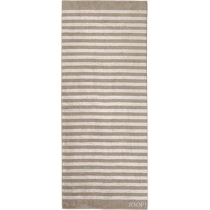 JOOP! - Classic Stripes - Asciugamano per la sauna color sabbia