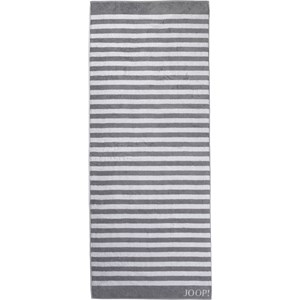 JOOP! - Classic Stripes - Silver bath sheet