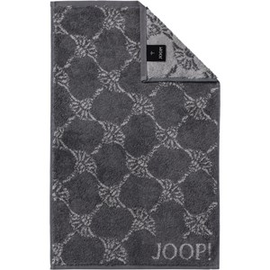 JOOP! - Cornflower - Guests towel Anthracite