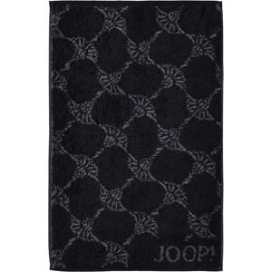 JOOP! - Cornflower - Black guest towel